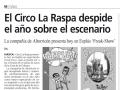 Diario del AltoAragón. 7 de diciembre de 2013.