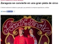 El Periódico de Aragón. 20 de noviembre de 2014.