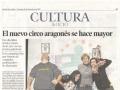 Heraldo de Aragón. 30 de diciembre de 2012.