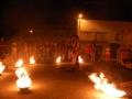 001 - Vamos a quemar la plaza. 21 de agosto de 2008 en Altorricón (Huesca). FOTO: Circo La Raspa.