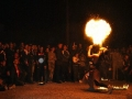 010 - Llamarada final. 7 de mayo de 2011 en Figuig (Marruecos). FOTO: Circo La Raspa.