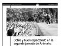 Diario del AltoAragón. 12 de agosto de 2011.