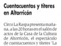 Diario del AltoAragón. 25 de octubre de 2012.