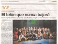 El Periódico de Aragón. 24 de marzo de 2015
